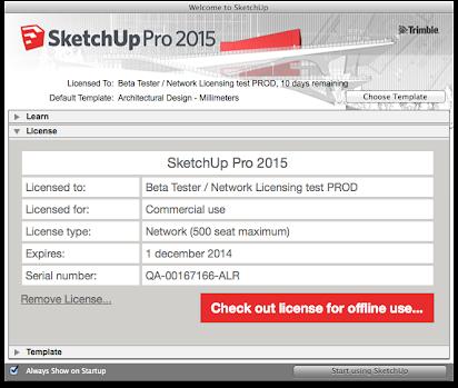 sketchup pro 2015 serial number key