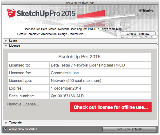 sketchup pro 2015 license Archives