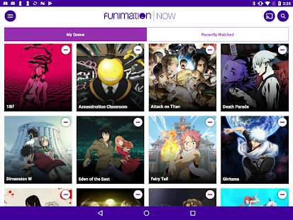 FunimationNow Screenshot