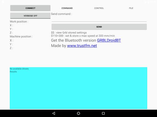 GRBLDroid-USB hack tool