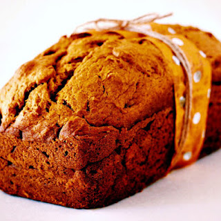 Pumpkin and Fresh Cranberry Loaf