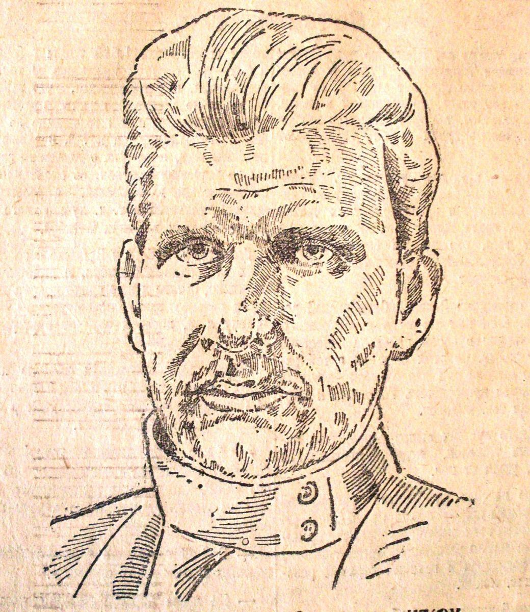 Більшовик Купріян Кіркіж. У липні 1917-го був головою завкому ВЕКу