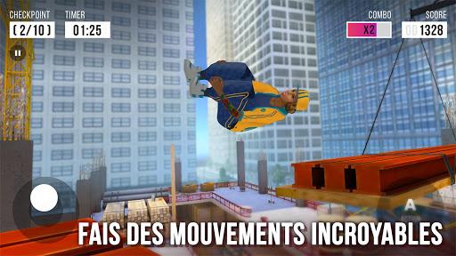 Télécharger Gratuit Parkour Simulator 3D - Trucs Extrêmes APK MOD (Astuce) screenshots 3