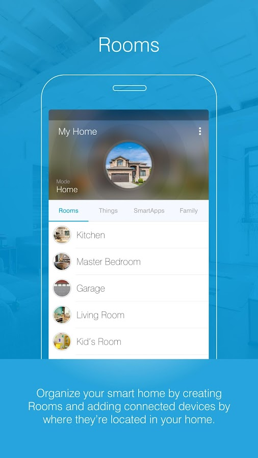 how to delete smartthings app