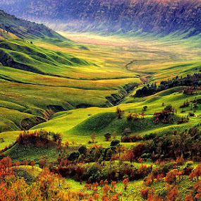 by F.N. Hendrawan - Landscapes Mountains & Hills