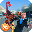 Giant Scorpion Animal Attack People Game icon