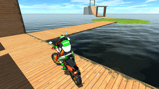 Racing on Bike Free 2.8 screenshots 8