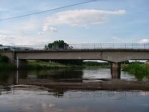 Photo: ostatni przejezdny most przed jeziorem Turawskim