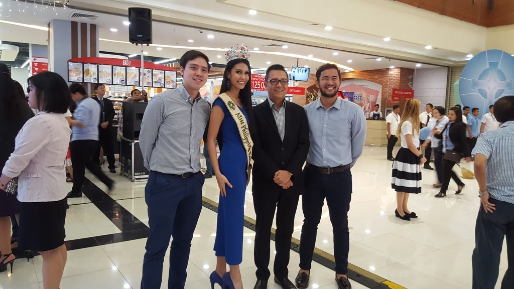 MISS PHILIPPINES EARTH 2015 ANGELIA ONG AT THE CHERRY SHAW OPENING