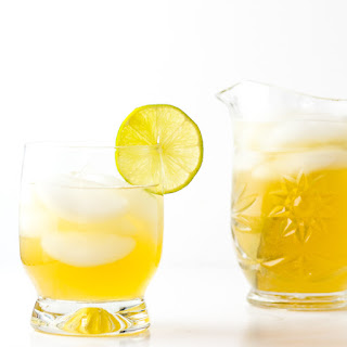 Gin and Ginger Cocktail.