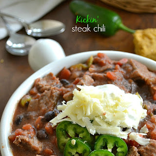 Kickin' Steak Chili