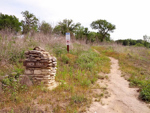 Photo: Mile Marker 11 and just around the bend from Tejas Camp