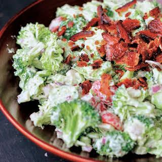 Easy Avocado And Broccoli Salad.
