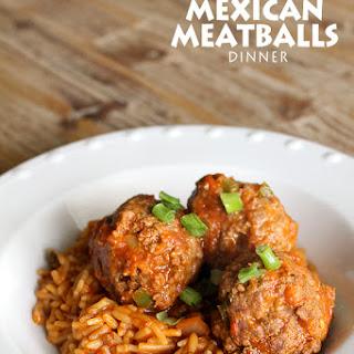 Mexican Meatballs.