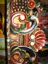 Photo: Hand carved and painted Peruvian art