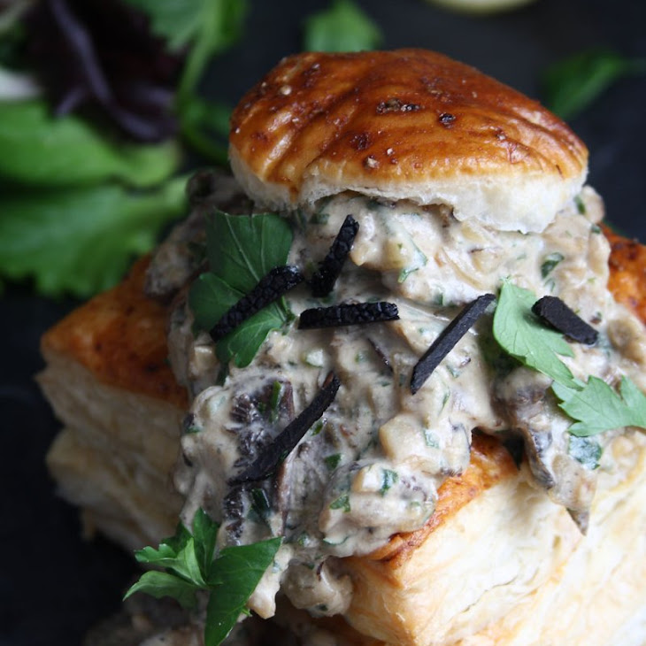 Mushroom Vol Au Vent Recipe