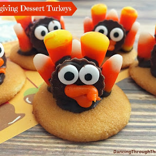 Thanksgiving Dessert Turkeys Recipe