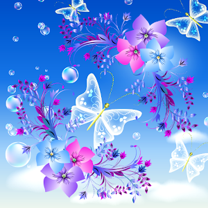 Download 3d Rose Live Wallpaper Full Version Download Butterfly Live Wallpapers Apk Latest Version App