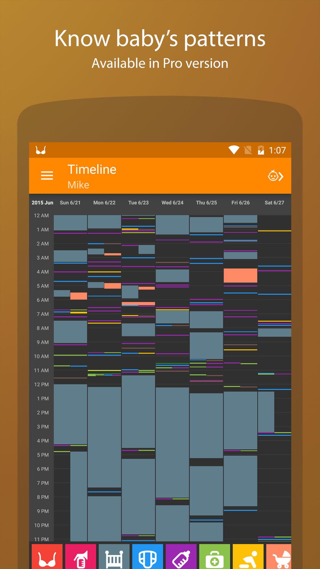 Baby Daybook - daily tracker screenshot #7