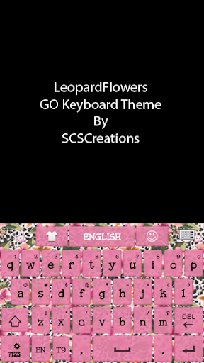 GO KB SKIN - LeopardFlowers