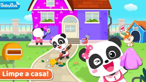 Faxina na casa do Bebê Panda screenshot 1