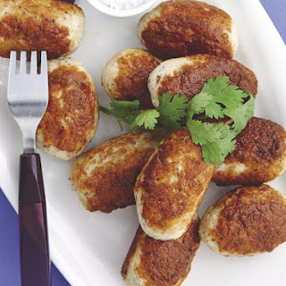 Chicken Kofta with Pumpkin Bulgur