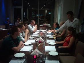 """Photo: Z luxusniho hotelu nas museli presunout do normalniho, zato jsme dostali """"all you can eat"""" veceri :)"""