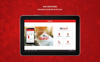 Screenshot of Mi Claro Ecuador