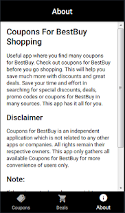 Coupons for Best Buy Shopping - náhled
