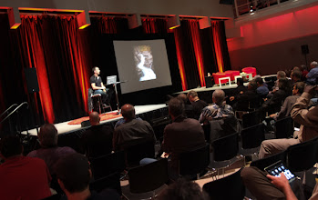 Photo: Matt Kloskowski on stage during one of his sessions in the Forum.