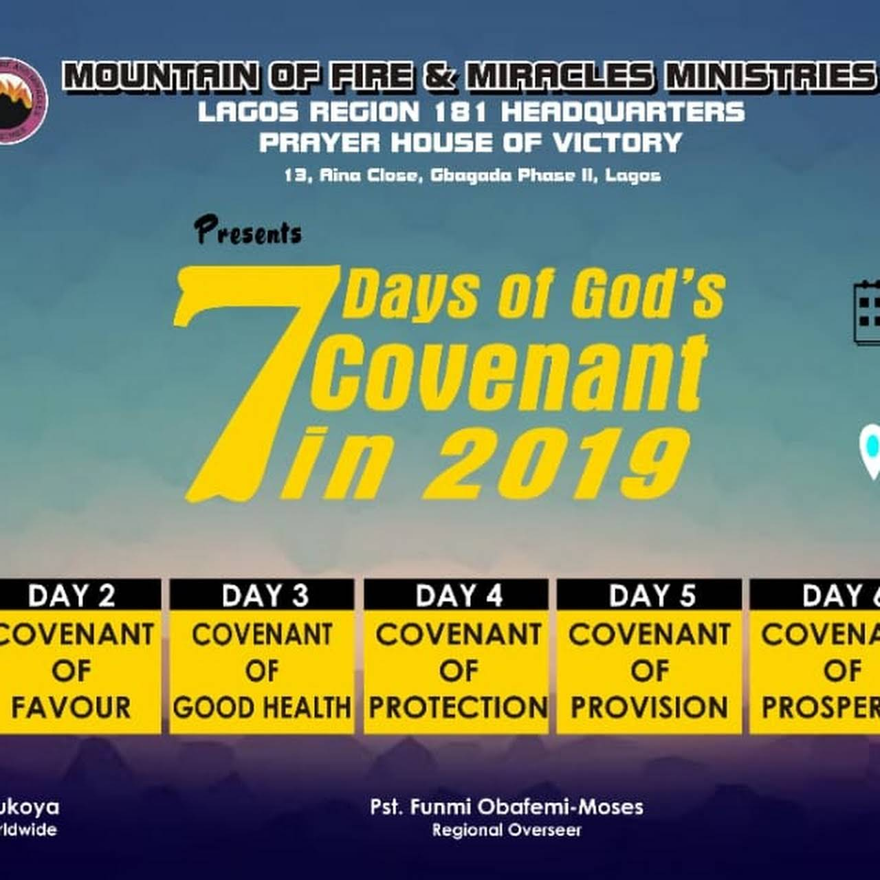 MFM Prayer House of Victory, New Garage - Gbagada, Lagos - Place of