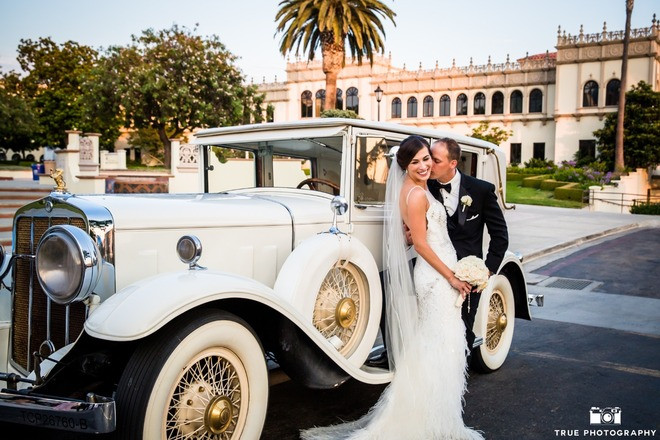 Roaring 20's Wedding Carriage Hire San Diego