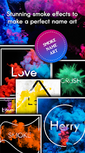 Name Art Smoke Effect Mod