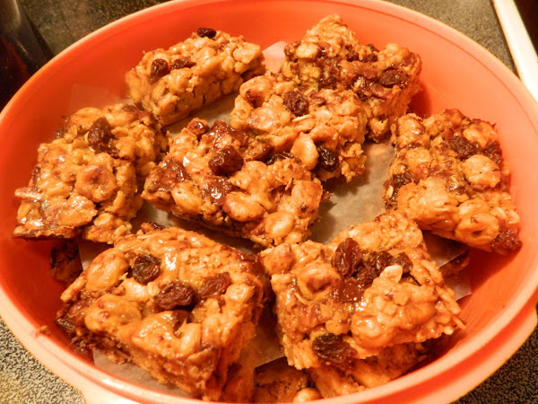 Peanut Butter Trail Mix Bars Recipe