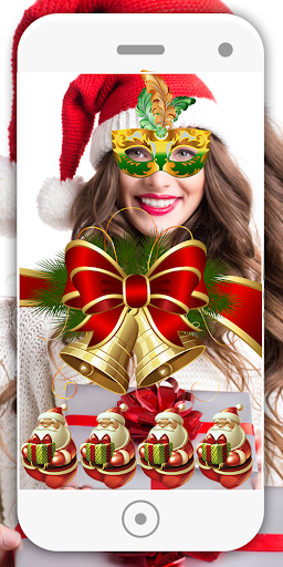 Merry Christmas Editor Face Camera 6.1 screenshots 10