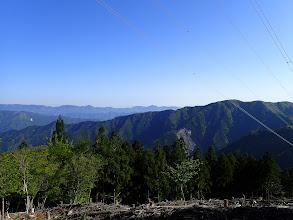 鉄塔から局ヶ岳方面