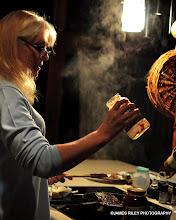 Photo: Christina makes her famous homemade chili.
