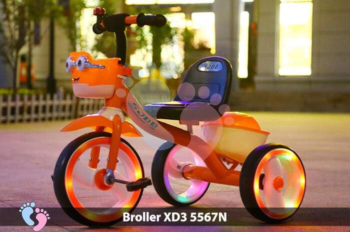 Xe đạp ba bánh Broller XD3-5567N 1