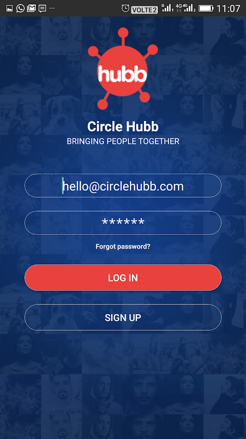 CircleHubb- screenshot