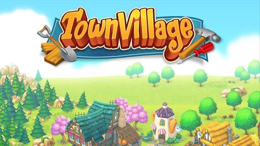 Town Village: Farm, Build, Trade, Harvest City  screenshots 1