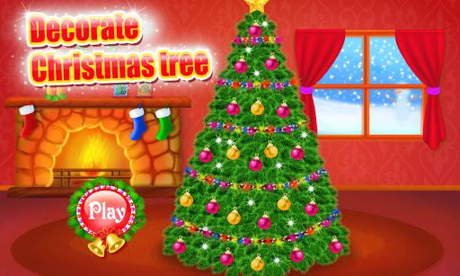 クリスマスツリーを飾ります