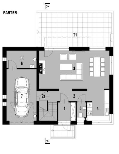 LIM House 03 - Rzut parteru