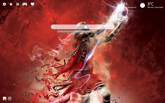 Michael Jordan Wallpaper Hd Chrome New Tab