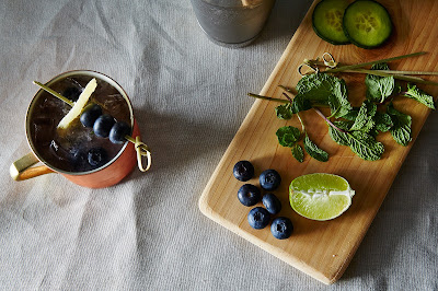 Garden Mule Cocktail