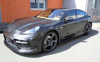 Porsche Panmera Mansory Rent Karlovarský kraj