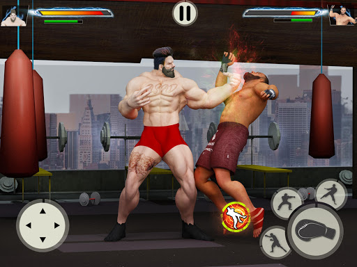 GYM Fighting Games: Bodybuilder Trainer Fight PRO apkmr screenshots 7