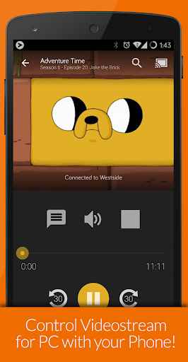 Videostream Chromecast: Mobile 1.18.02.27 screenshots 3