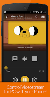 Videostream Chromecast: Mobile screenshot 02