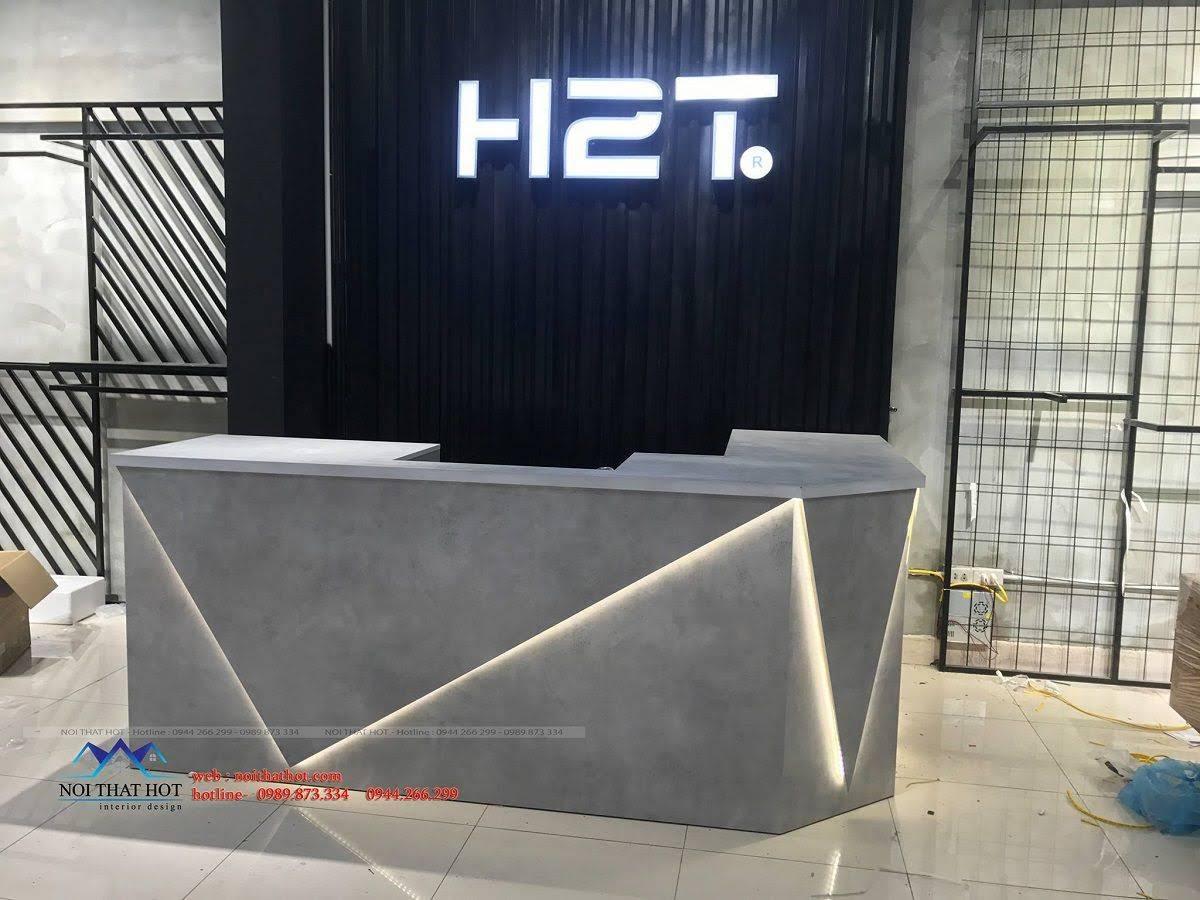 thiết kế shop thời trang nam H2T 19