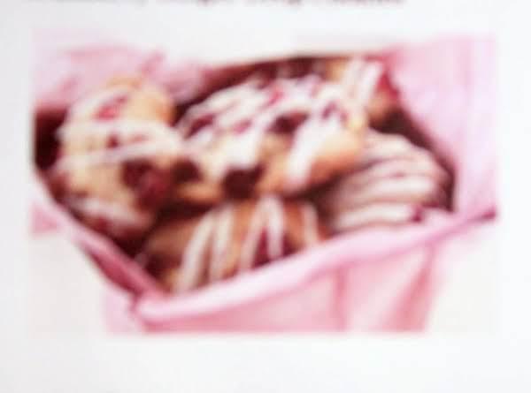 Cranberry Ginger Drop Cookies Recipe